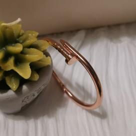 Rosegold Çivi Bileklik